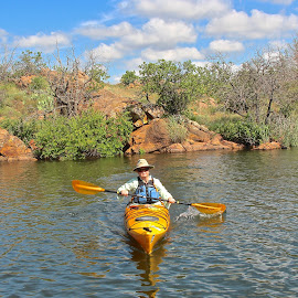 Kayaking by Kathy Suttles - Sports & Fitness Other Sports