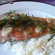 Rosemary Garlic Salmon