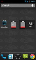 Screenshot of BatteryCurrents Battery Widget