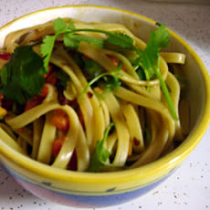Chinese Cold Pasta Salad