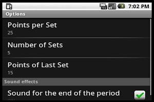 Screenshot of Scoreboard Volley ++