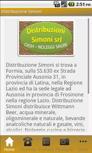 Distribuzione Simoni