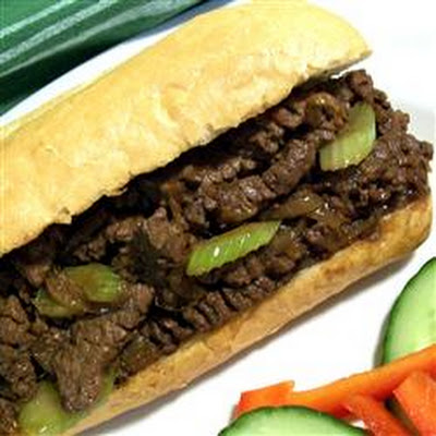 Byrdhouse Easy Ginger Beef Sandwiches