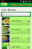 Screenshot of Resep Jajanan Pasar