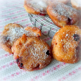 Fried Blueberry Fritters Recipes