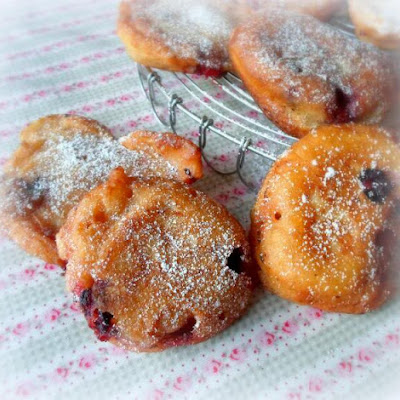Blueberry Fritters