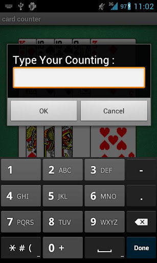 Counting Cards Practice