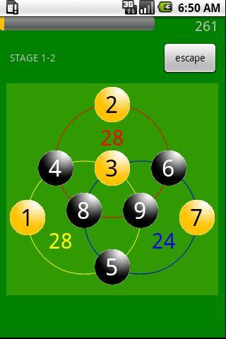 Circle Math Puzzle Free