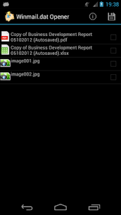 how to open winmail dat on android