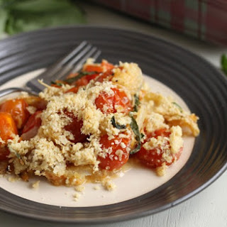 Cherry Tomato Crumble