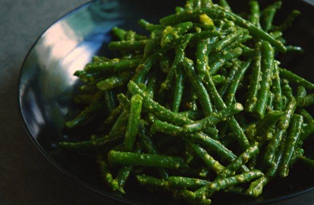 Green Beans With Pistachio Pesto Recept   Yummly