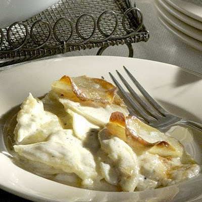Garlic Scalloped Potatoes