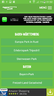 Freizeitparks Guide - screenshot