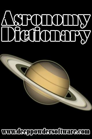 Astronomy Dictionary