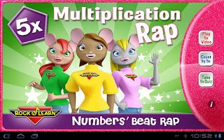 Screenshot of Multiplication Rap 5x HD