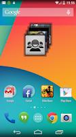 Screenshot of People Widget