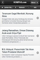 Screenshot of Berita Indonesia