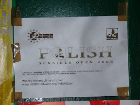 Polish Sensible Open 2008 - Gallery