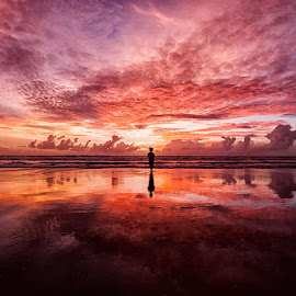 lonely day  by Nolandia Wijaya - Landscapes Beaches