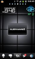 Screenshot of Alienware Morph Go Launcher