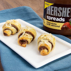 Chocolate Almond Roll-Ups