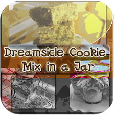 Dreamsicle Cookie Mix in a Jar