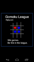 Screenshot of Gomoku League