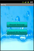 Screenshot of Bill Pay - Recharge - Refill1
