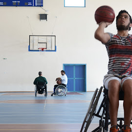 Basketball by Tasos Triantafyllou - Sports & Fitness Basketball ( basketball, greece )