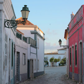 Old City by Luís Barriga - Buildings & Architecture Homes ( old, algarve, portugal, faro, city )