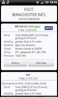 Screenshot of AirReport Pro - METAR & TAF