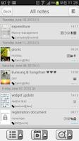 Screenshot of Memo & Note