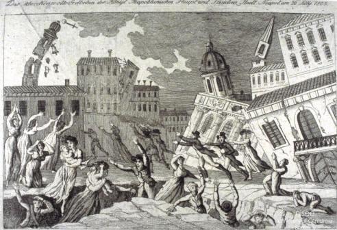 西方版画中记载的1805年意大利那不勒斯地震