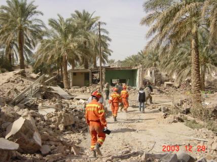 2003年伊朗巴姆地震-中国救援队