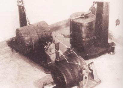 1951年李善邦先生主持研制的我国第一台地震仪