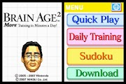 More Brain Training from Dr Kawashima: How Old Is Your Brain?