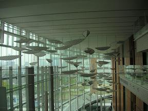 科学未来館、エレベーターホール