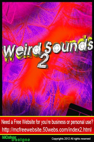 Weird Sounds 2