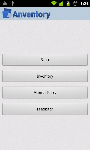 Anventory - Inventory manager