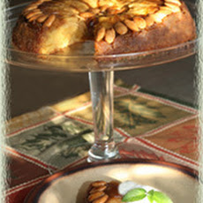 Apple-Almond Upside Down Cake