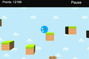 Screenshot of Blueix Run