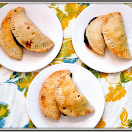 Hand Pies by Hayley Goerisch - Food & Drink Plated Food ( blueberry, lemon curd, color, food, handpie, peach, pie, dessert )