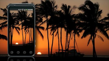 Screenshot of Beach Live Wallpaper - Sunset