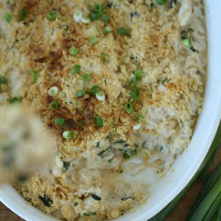 Hot Crab Dip with Jalapenos and Scallions