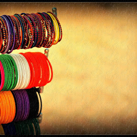 Bangles by Prasanta Das - Artistic Objects Clothing & Accessories ( colorful, bangles, women )