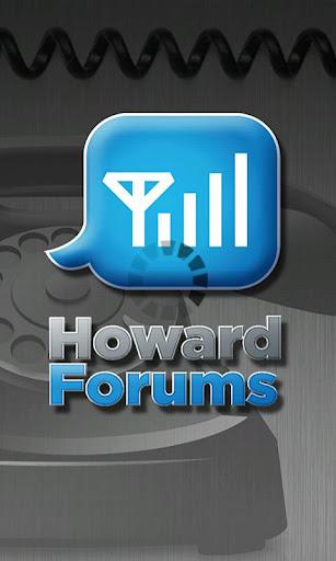 The HowardForums App