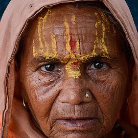 Tribal Woman by Rakesh Syal - People Portraits of Women