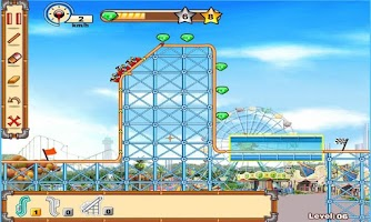 Screenshot of Roller Coaster 2