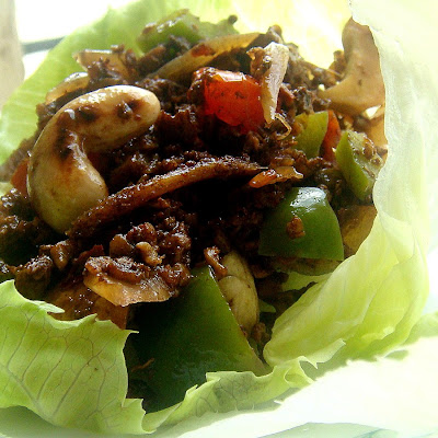 Lemongrass Chicken Lettuce Wraps