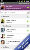 Screenshot of Go!Chat for Yahoo! Messenger